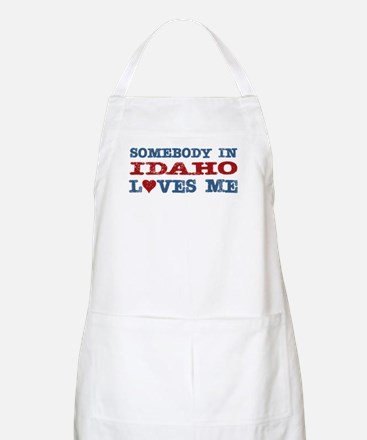 Somebody in Idaho Loves Me BBQ Apron