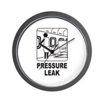 Pressure Leak Wall Clock