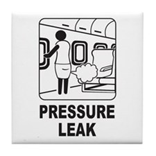 Pressure Leak Tile Coaster