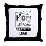 Pressure Leak Throw Pillow