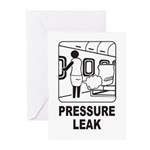 Pressure Leak Greeting Cards (Pk of 10)