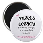 """2.25"""" Magnet (10 pack) NEW Angel's Legacy!"""
