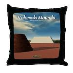 Kolomoki Mounds Throw Pillow