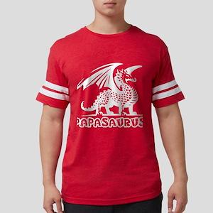 Papasaurus Stegosaurus Dinosaur Grandad Gr T-Shirt