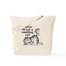 Smiling Cat Tote Bag