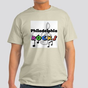 Philadelphia Rocks Light T-Shirt