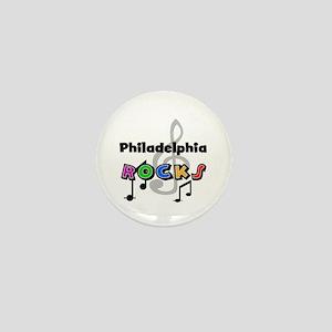 Philadelphia Rocks Mini Button