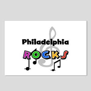 Philadelphia Rocks Postcards (Package of 8)
