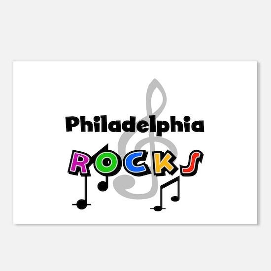 Philadelphia Rocks Postcards (Package of 8)