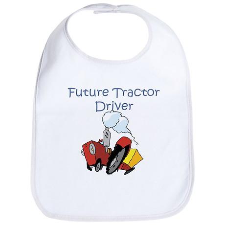 Cute Future Tractor Driver Bib