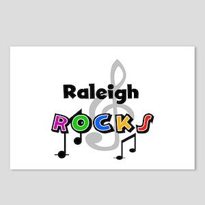 Raleigh Rocks Postcards (Package of 8)