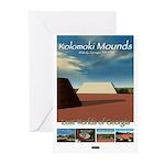 Kolomoki Mounds/LostWorlds Greeting Cards-Pk of 10