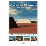 Kolomoki Mounds/Lost Worlds Large Poster