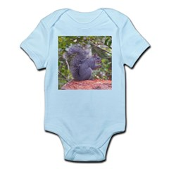 Gray Squirrel Infant Creeper