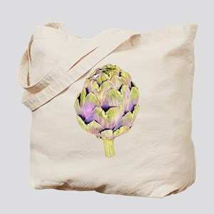 Purple Artichoke Tote Bag