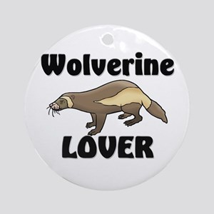 Wolverine Lover Ornament (Round)