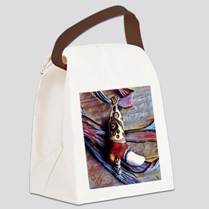 Cowboy Boot Canvas Lunch Bag