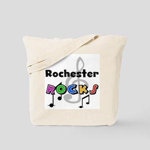 Rochester Rocks Tote Bag