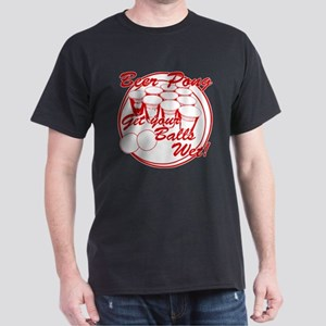 Beer Pong Balls Wet - Red Dark T-Shirt