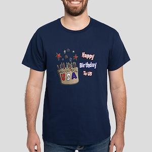 Happy Birthday To Us 1 Dark T-Shirt