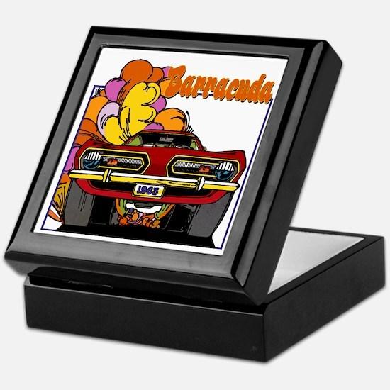 1968 Barracuda Keepsake Box