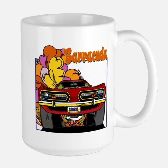 1968 Barracuda Large Mug