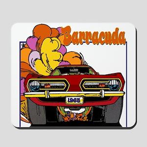 1968 Barracuda Mousepad