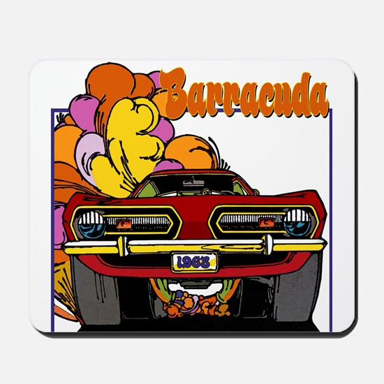 1968 Barracuda Mousepad