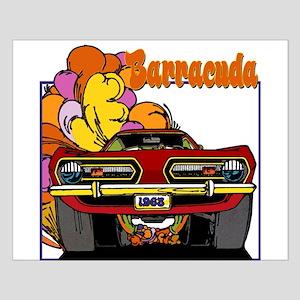 1968 Barracuda Small Poster