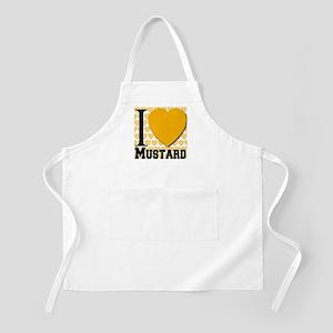 I Love Mustard BBQ Apron