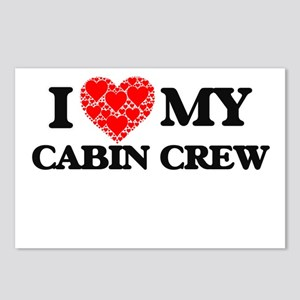 I Love my Cabin Crew Postcards (Package of 8)