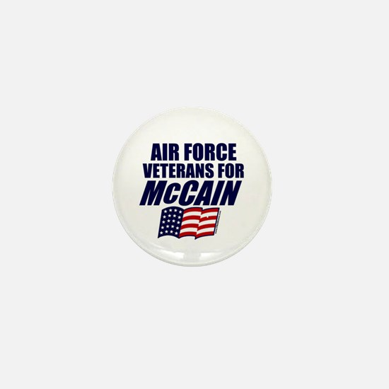 Airmen for McCain Mini Button