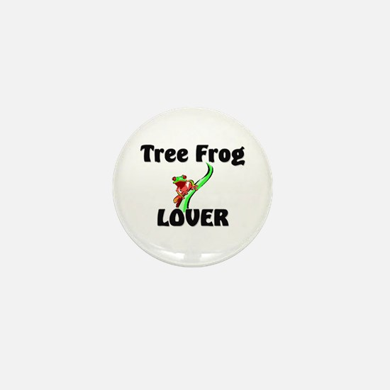 Tree Frog Lover Mini Button
