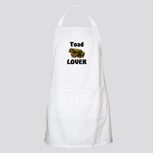 Toad Lover BBQ Apron
