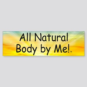 TOP All Natural Body Sticker (Bumper)