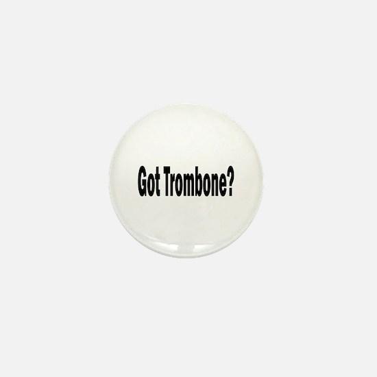 Trombone Mini Button