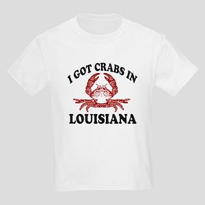 I got crabs in Louisiana Kids T-Shirt