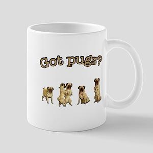 Retro Got Pugs? Mug