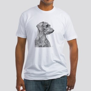 Wirehaired Dachshund 1 Fitted T-Shirt
