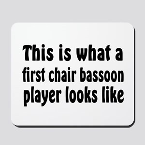 Bassoon Mousepad