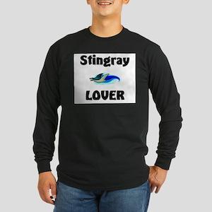 Stingray Lover Long Sleeve Dark T-Shirt