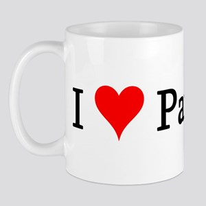I Love Paintball Mug
