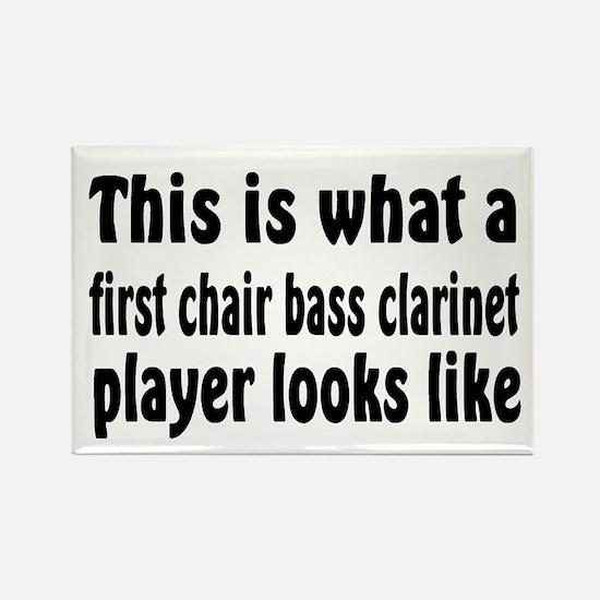 Bass Clarinet Rectangle Magnet