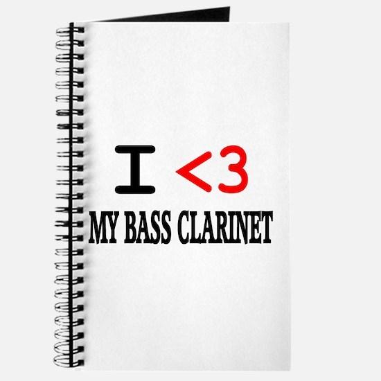 I Heart Bass Clarinet Journal