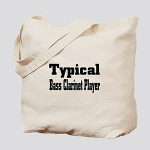 Typical Bass Clarinet Tote Bag