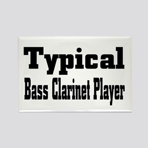 Typical Bass Clarinet Rectangle Magnet