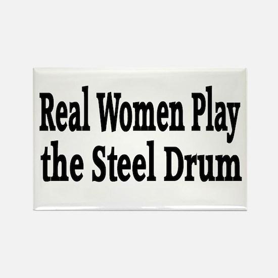 Steel Drum Rectangle Magnet