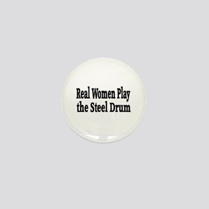 Steel Drum Mini Button