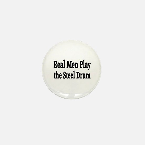 Steel Drum Mini Button