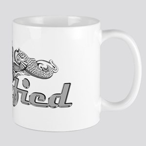 Qualified Silver Dolphins Mug